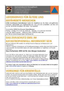 Infos Gemeinde Krenglbach Corona